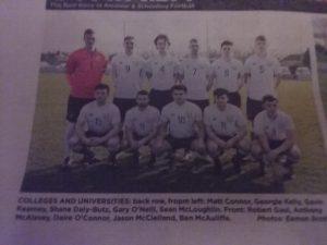 UCD 2 0 DF lineup