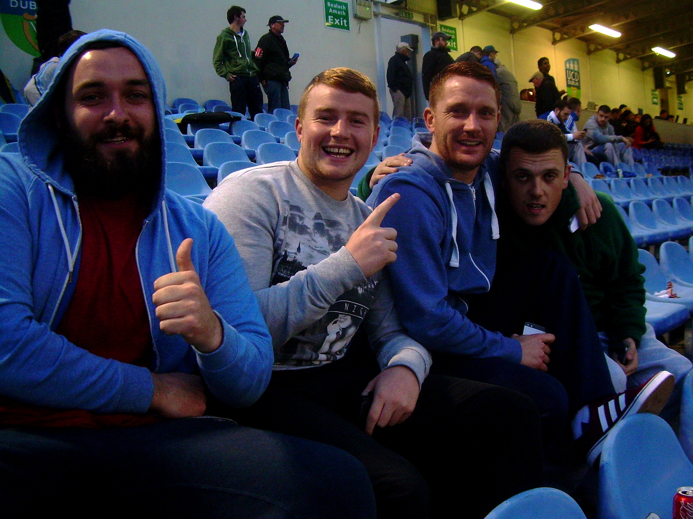 UCD Fans at Galway FAI 2014.JP