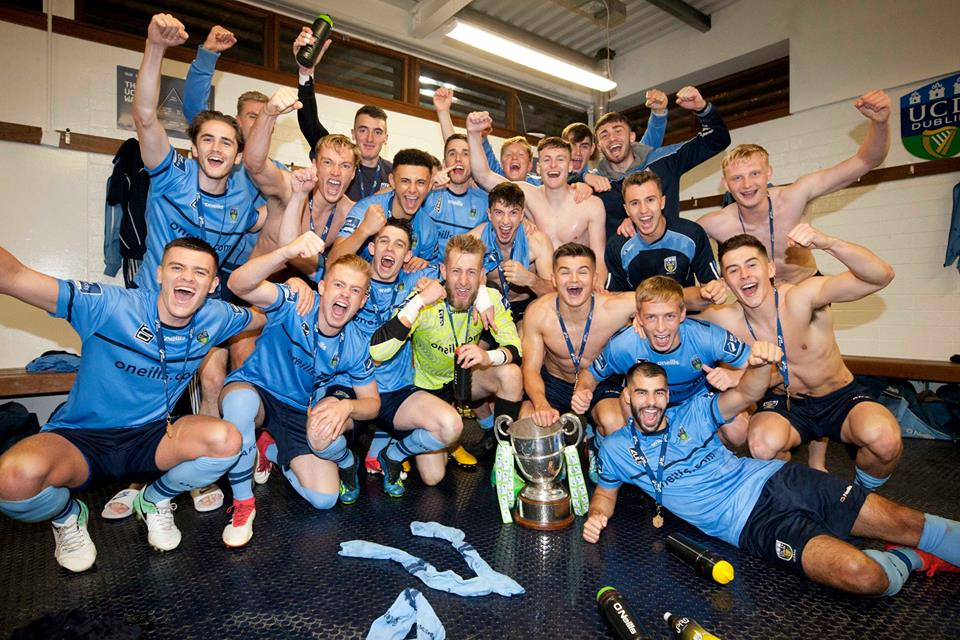 UCD AFC League Winners 2018.jp
